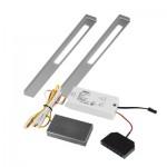 Slim LED keukenverlichting set van: 2 - 12V