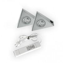 Astra halogeen keukenverlichting set van: 2 - 20 Watt met schakelaar